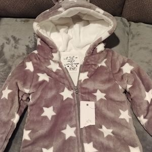 NWT 2 piece girl's pant outfit and jacket set